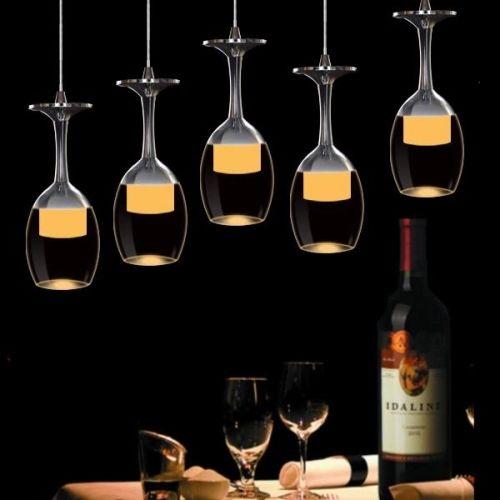Lampara Colgante tipo vino